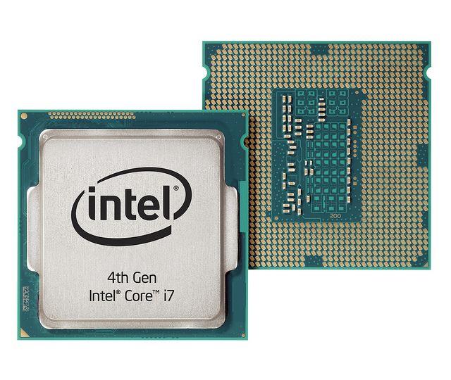 4ª Geração Intel® Core ™ i7 dianteira e traseira