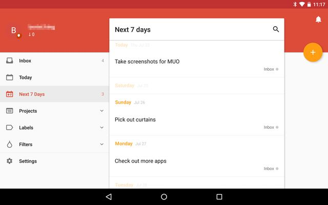AndroidRememberThings-Todoist