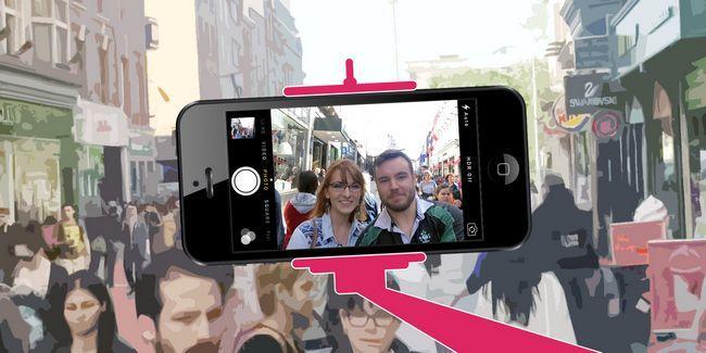 Eu agi como um idiota com uma vara selfie, aqui está como as pessoas reagiram