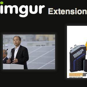 Imgur é uma extensão do chrome fantástico para upload e compartilhamento de fotos
