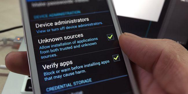 É seguro instalar aplicativos android a partir de fontes desconhecidas?