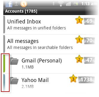 cliente de email android
