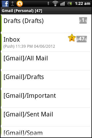 aplicativos de e-mail android