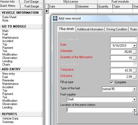 programada lista de verificação da manutenção do carro