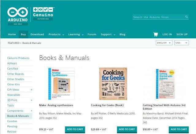arduino-books
