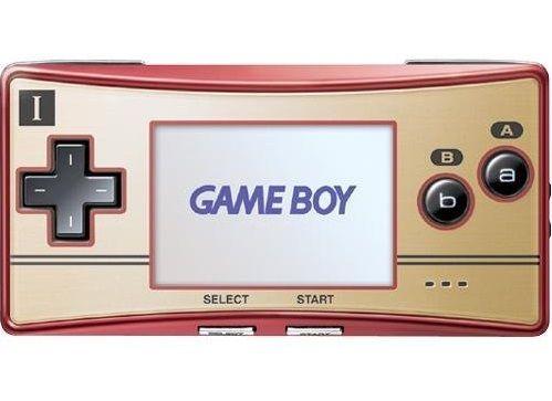 Game Boy Micro Famicom