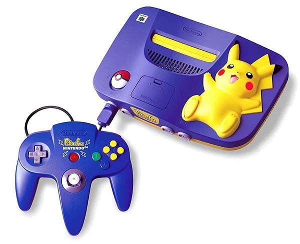Pikachu N64 Edição