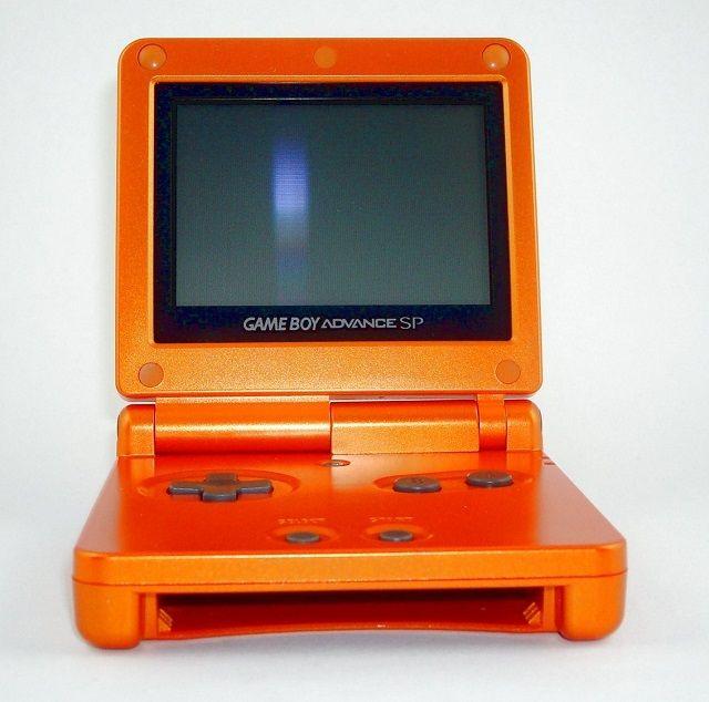 Torchic Laranja GameBoy Advance SP