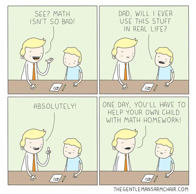 -Linux-win-matemática em quadrinhos