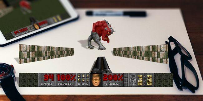Faça o seu próprio retro jogos 3d arte pop