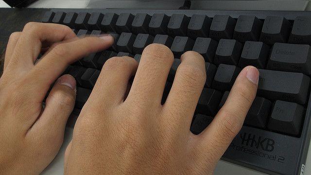 digitando-black-teclado