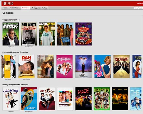 Netflix vs Lovefilm