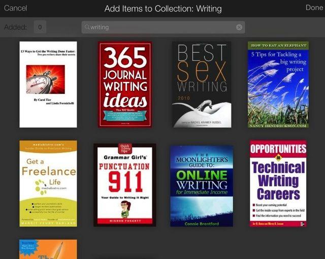 coleções Kindle 2
