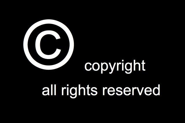 _all_rights_reserved por direitos autorais
