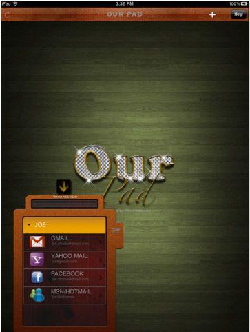 várias contas de usuário no iPad
