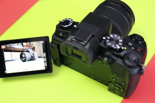 Panasonic G80 Autofoco