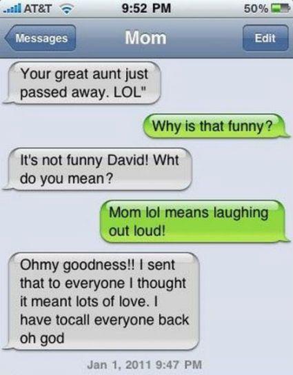 mensagens de texto-lol
