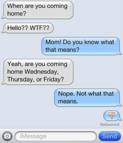mensagens de texto-wtf