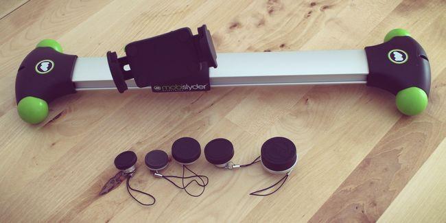 Kit de lente photojojo e câmera mobislyder revisão dolly e doação