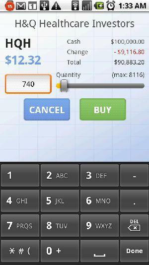 negociação de ações online