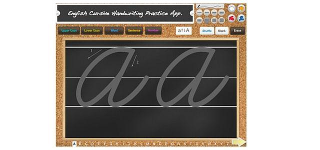 Cursive Writing App 1