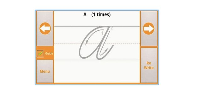 Escrita cursiva App