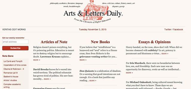 Artes e Letras diário