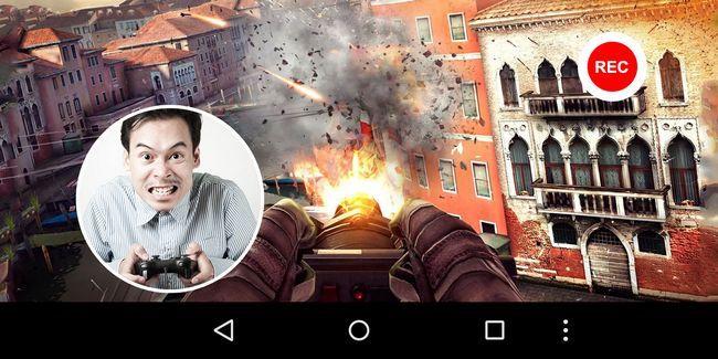 Grave a sua tela android com jogos do google play