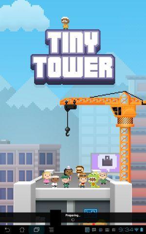 pequena revisão torre
