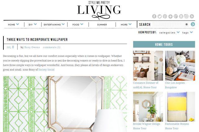 melhores-sites-to-salvar-dinheiro-on-home-decor-DIY-stylemepretty de estar