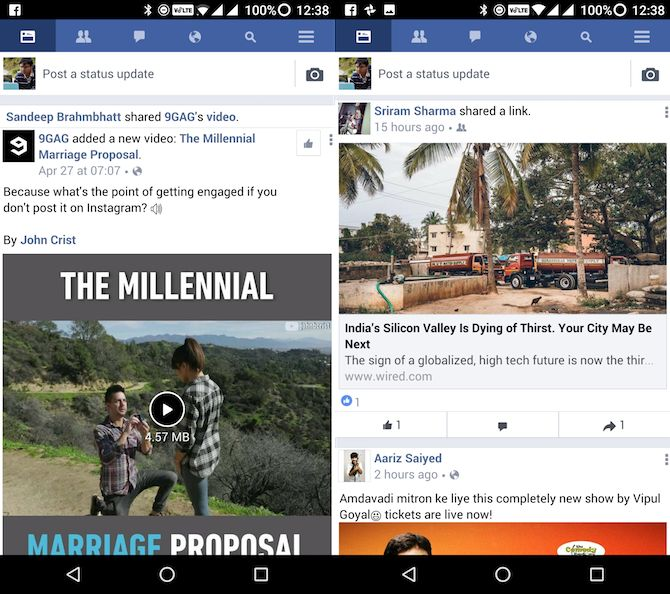 Lite apps Android facebook Lite