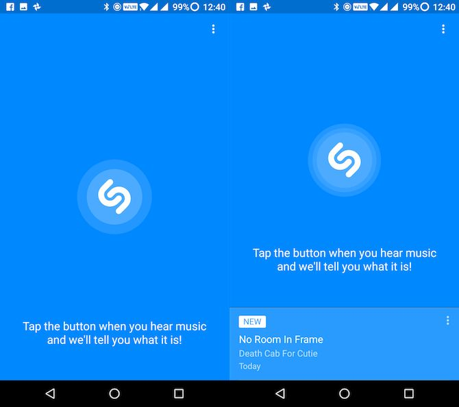 Lite apps Android shazam