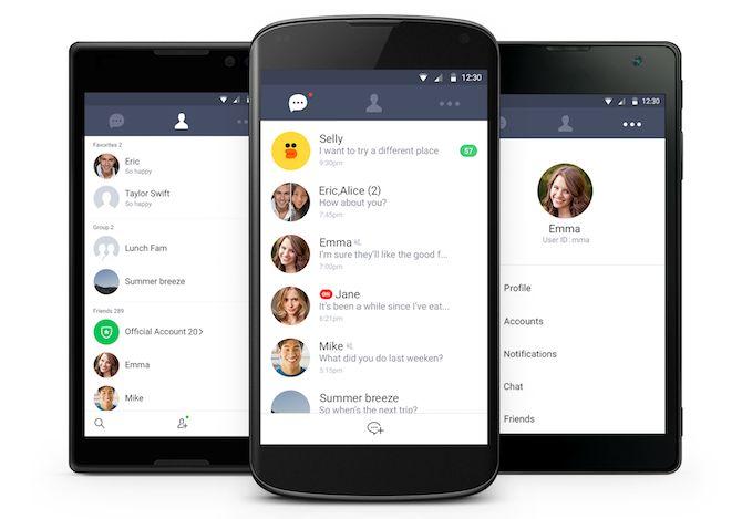 android linha de aplicativos de lite