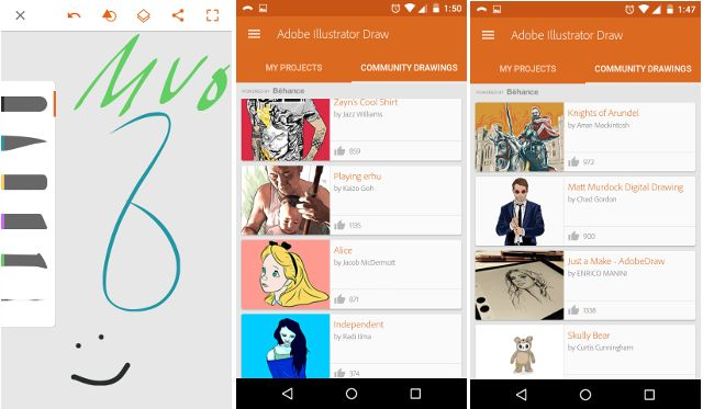 android-creative-nuvem-ilustrador
