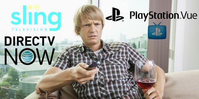 Sling tv vs. Directv agora vs. Playstation vue: como eles se comparam?