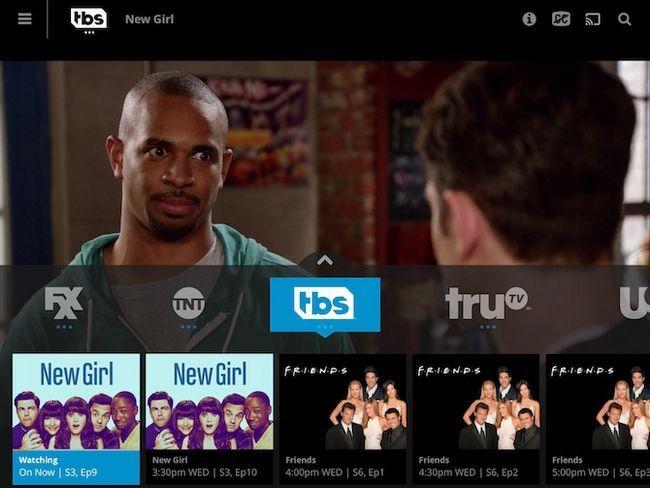 Exemplo TV Catálogo Sling