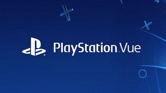 logotipo PlayStation Vue