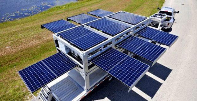 Trailer Unidade de Energia Solar