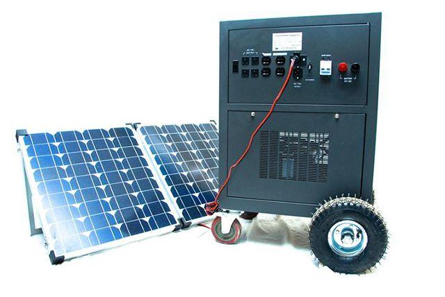 Gerador Solar VSP3500