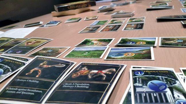 civilização do jogo de cartas