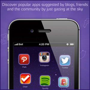 Tome as recomendações sociais e marcação para descobrir aplicativos para android com hubbl