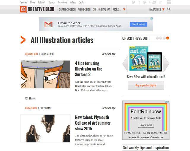 Bloq criativo: Aprendizagem Illustrator