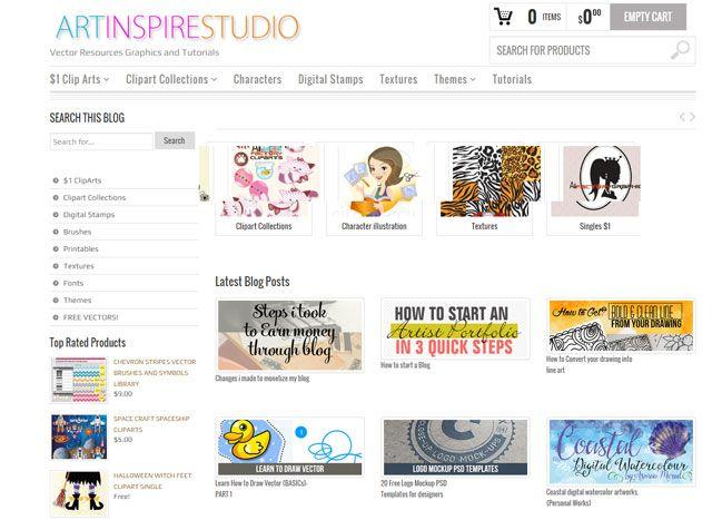 Art Inspire Estúdio: Aprendizagem Illustrator