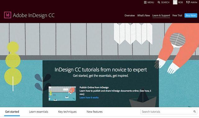 Adobe Indesign Tutoriais