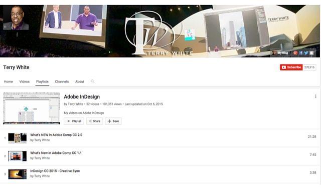 YouTube Indesign