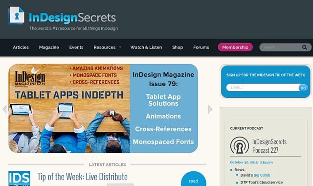 Secrets Indesign