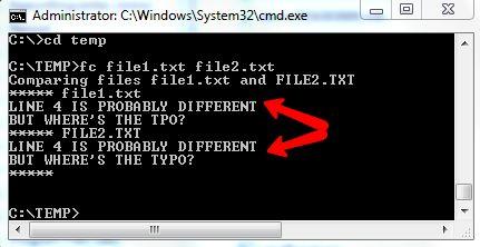 comandos do MS-DOS
