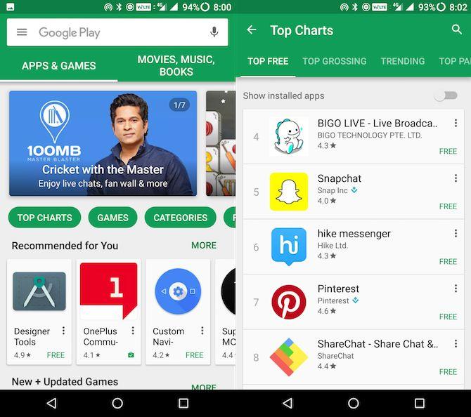 loja de jogo do Google guia para iniciantes Android