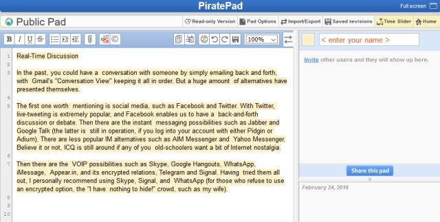 piratepad