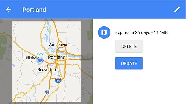 Google-Maps off-line